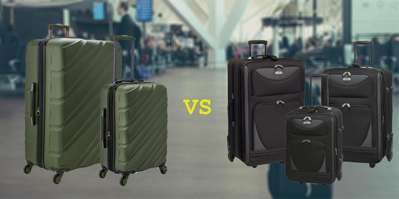 4 Wheel vs. 2 Wheel Luggage Sets
