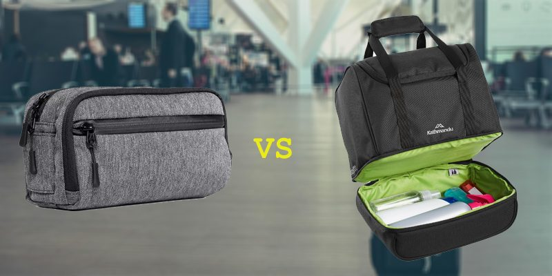 Dopp Kits vs Toiletry Bag