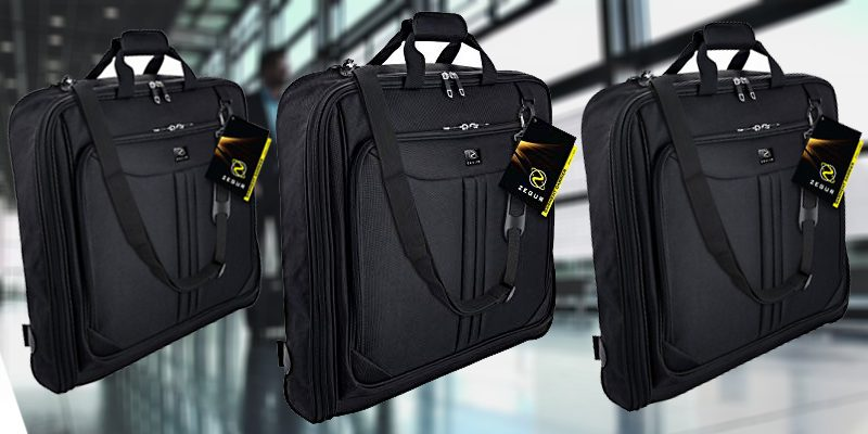 ZEGUR Suit Carry On Garment Bag Review - Luggage Buyer Guide 69b74c9b38c96