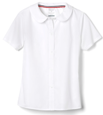 french toast girls' short sleeve peter pan collar blouse review