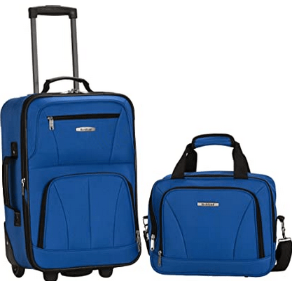 Rockland Fashion Softside Upright Luggage Set Review