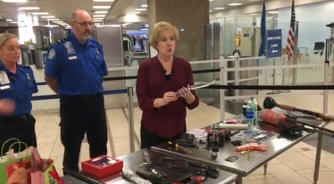 What Items are Not Allowed in Checked Luggage?: TSA Presentation Pictures