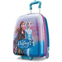 American Tourister Kids' Disney Hardside Upright Luggage, Frozen Disney, Carry-on 16- inch Image