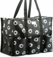 Pursetti Zip-Top Organizing Utility Tote Bag Pockets image
