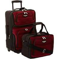Travel Select Amsterdam Expandable Rolling Upright Luggage Image
